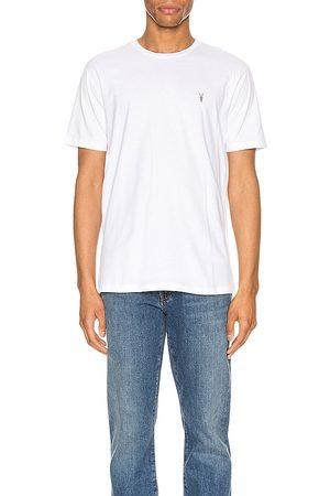 ALLSAINTS Camiseta básica brace en color blanco talla L en - White. Talla L (también en M, S, XL).