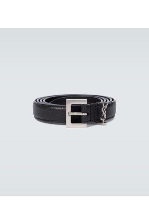 Saint Laurent Hombre Cinturones - YSL leather belt