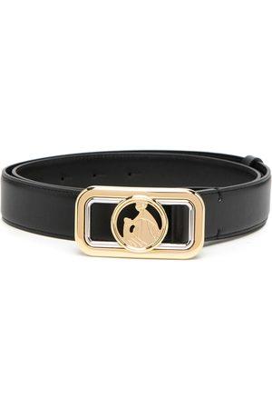 Lanvin Cinturón con motivo del logo en la hebilla
