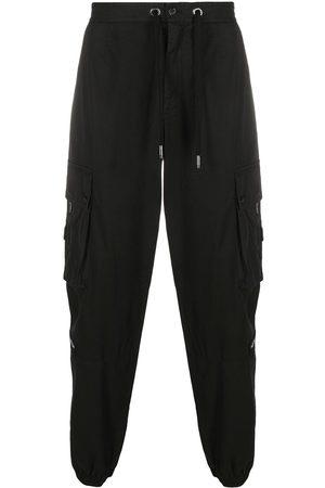 Dolce & Gabbana Hombre Cargo - Pantalones cargo con parche del logo