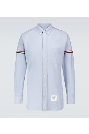 Thom Browne Hombre Casuales - Grosgrain armband shirt
