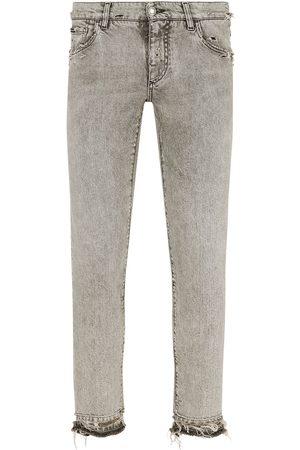 Dolce & Gabbana Hombre Skinny - Skinny jeans con tiro bajo