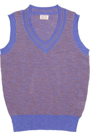 MORLEY Niño Chalecos - Norton cotton-blend sweater vest