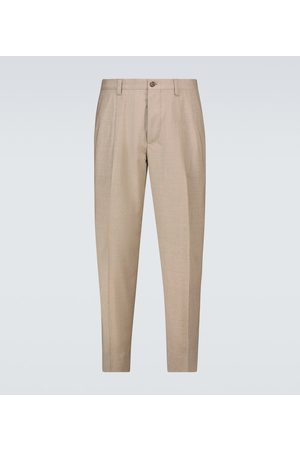 Dolce & Gabbana Hombre De vestir - Stretch-wool tailored pants
