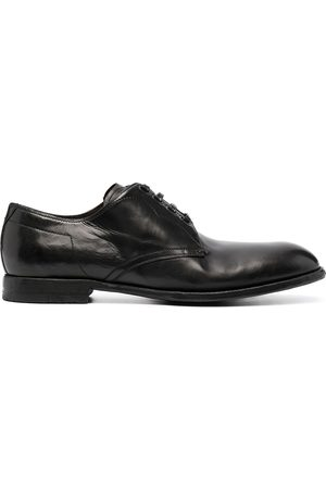 Dolce & Gabbana Hombre Oxford - Zapatos derby con acabado envejecido