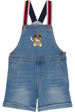 Moschino Bebé Overoles - Baby denim overalls