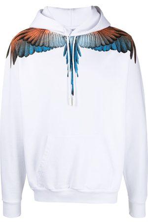 MARCELO BURLON Hoodie con motivo Wings