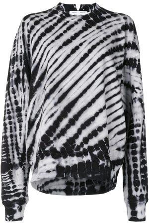PROENZA SCHOULER WHITE LABEL Mujer Sudaderas - Sudadera con estampado tie-dye