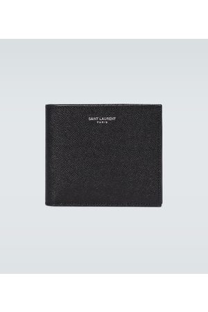 Saint Laurent Hombre Carteras y Monederos - Grained leather wallet