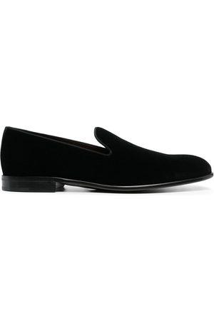 Dolce & Gabbana Hombre Mocasines - Mocasines de terciopelo