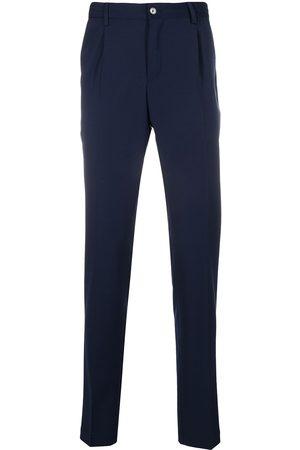 PT01 Pantalones de vestir con tiro alto
