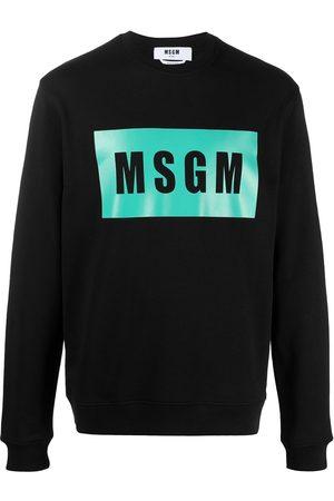 Msgm Hombre Sudaderas - Sudadera con logo