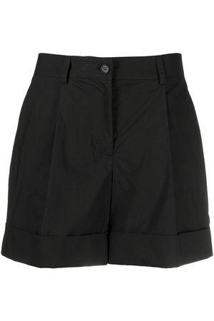 P.a.r.o.s.h. Mujer Shorts - Shorts con tiro alto