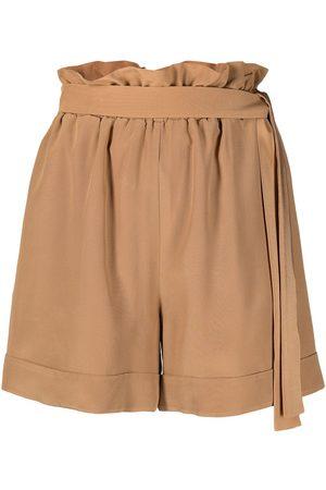 FEDERICA TOSI Mujer Shorts - Shorts con cinturón