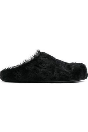 Marni Mujer Zuecos - Mules de pelo de becerro