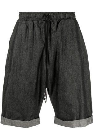 Alchemy Shorts de mezclilla con cordones en la pretina