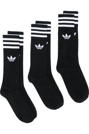 adidas Hombre Calcetines - Pack de 3 pares de calcetines