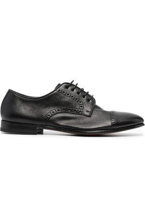 HENDERSON BARACCO Hombre Oxford - Zapatos derby con detalles perforados