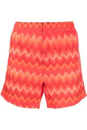 Missoni Hombre Shorts - Shorts de playa con estampado en zigzag