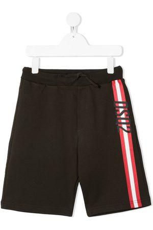 Dsquared2 Shorts con franjas del logo