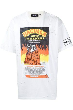 HACULLA Hombre Playeras - Playera Firecracker Vintage