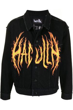 HACULLA Hombre De mezclilla - Chamarra de mezclilla On Fire