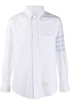 Thom Browne Hombre Camisas - Camisa oxford con motivo 4-Bar