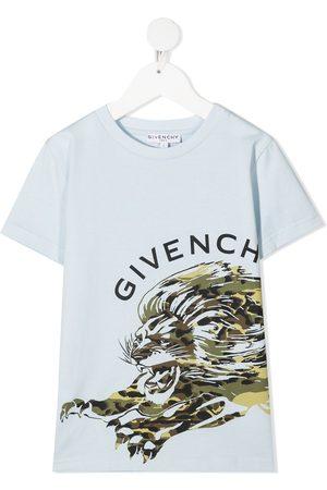 Givenchy Niño Playeras - Playera con logo estampado