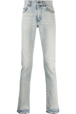 Saint Laurent Hombre Rectos - Jeans rectos con efecto degradado