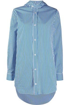 Plan C Camisa a rayas con capucha
