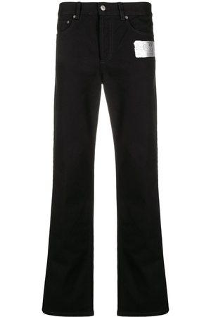 Givenchy Hombre Rectos - Jeans rectos con parche del logo