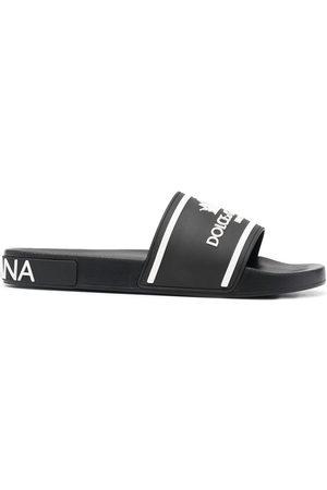 Dolce & Gabbana Flip flops con logo estampado