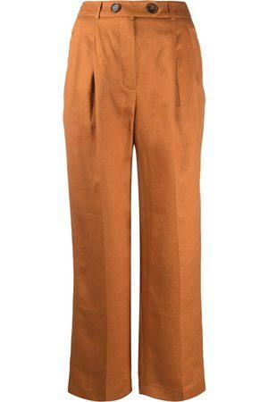 12 STOREEZ Pantalones anchos con pinzas