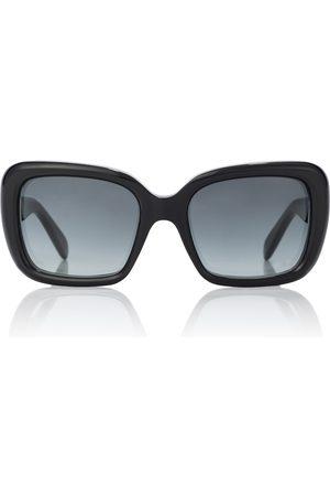 Céline Rectangular acetate sunglasses