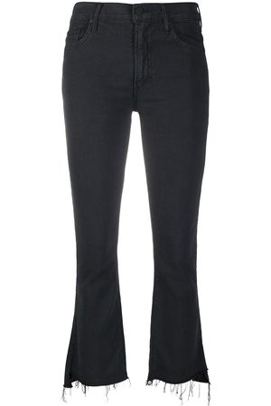 Mother Mujer Jeans - Jeans The Insider Crop Step Fray
