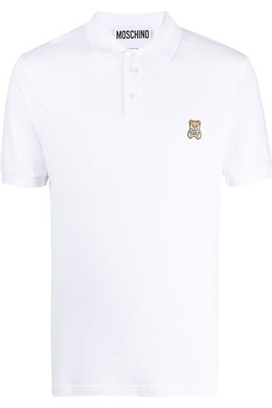 Moschino Playera tipo polo con motivo Teddy Bear