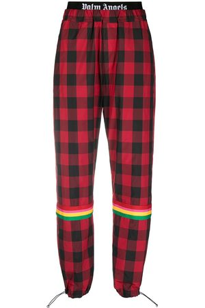Palm Angels Mujer Pantalones y Leggings - Buffalo Aftersport check trousers