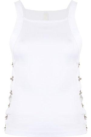 DION LEE Camiseta con ganchos