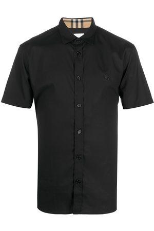 Burberry Hombre Camisas - Camisa con ribete de cuadros