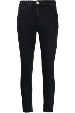 3x1 Jeans capri con cinco bolsillos