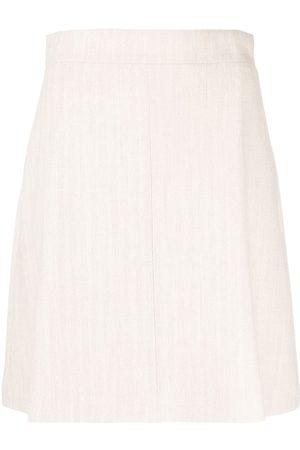 12 STOREEZ Mujer Minifaldas - Minifalda tejida