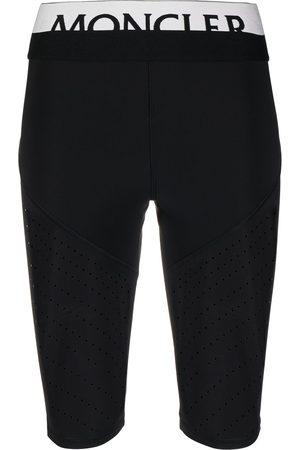 Moncler Shorts de ciclismo con logo en la pretina