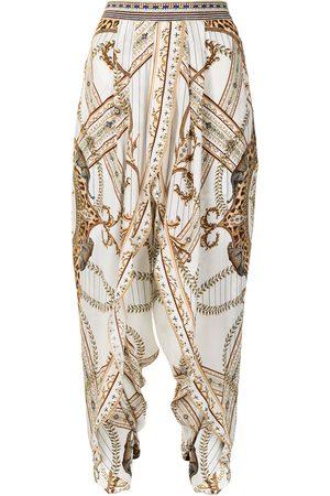 Camilla Mujer Capri o pesqueros - Pantalones de seda Mind Your Manor