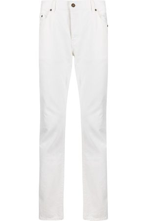 Saint Laurent Jeans slim con efecto lavado