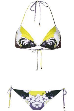 VALENTINO Bikini con estampado World Arazzo