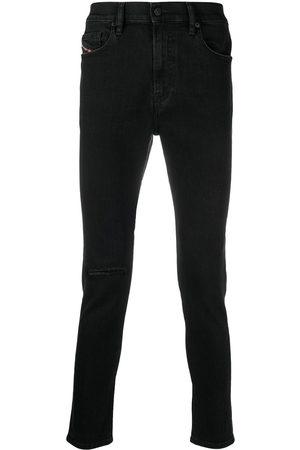 Diesel Skinny jeans con efecto lavado