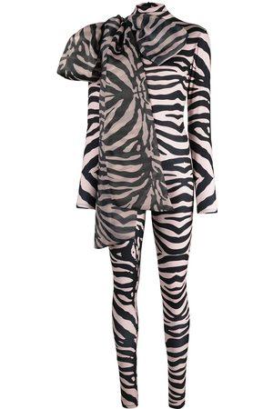 Atu Body Couture Mujer Body - Body stretch con estampado de cebra