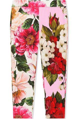 Dolce & Gabbana Niña Pantalones y Leggings - Pantalones con estampado floral