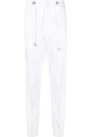 Philipp Plein Hombre Pantalones y Leggings - Pantalones rectos con cordones en la pretina