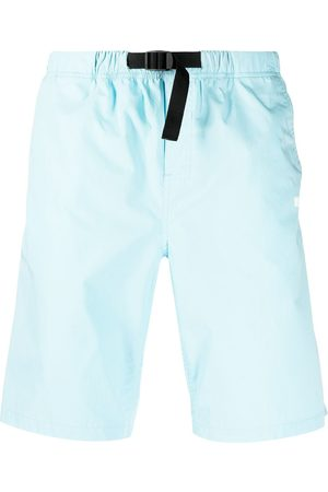 Msgm Hombre Shorts - Shorts con logo estampado